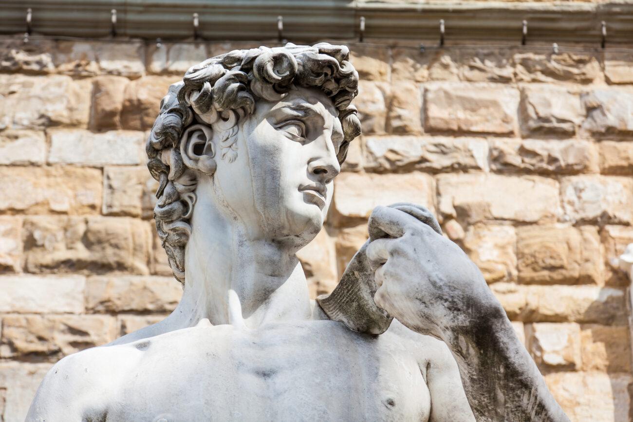 Il David di Michelangelo, il rugby e un antico problema matematico