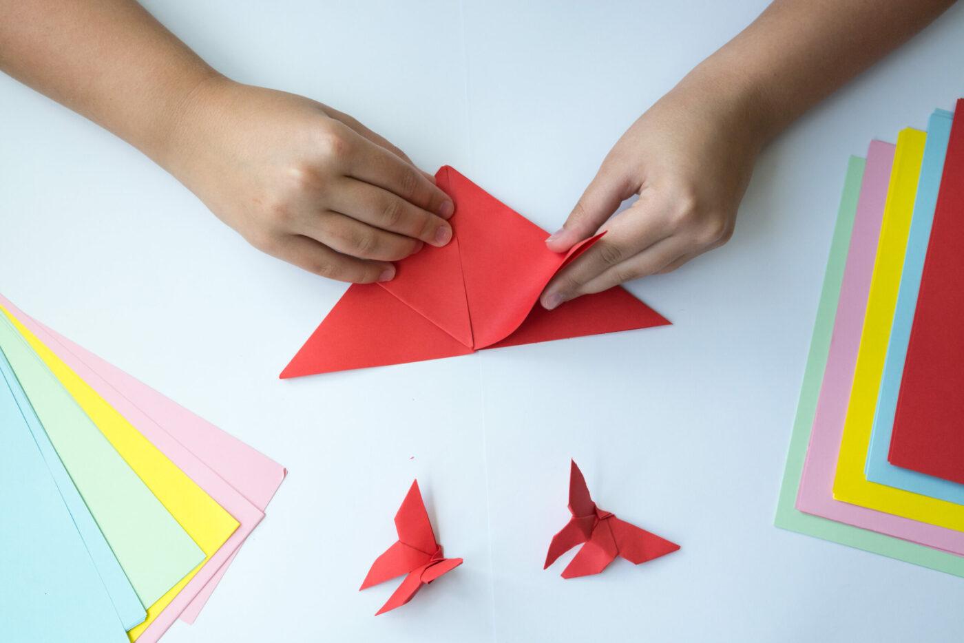 Il linguaggio matematico nelle pieghe origami