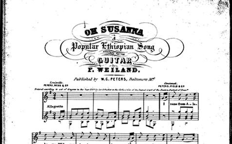 Oh Susanna!